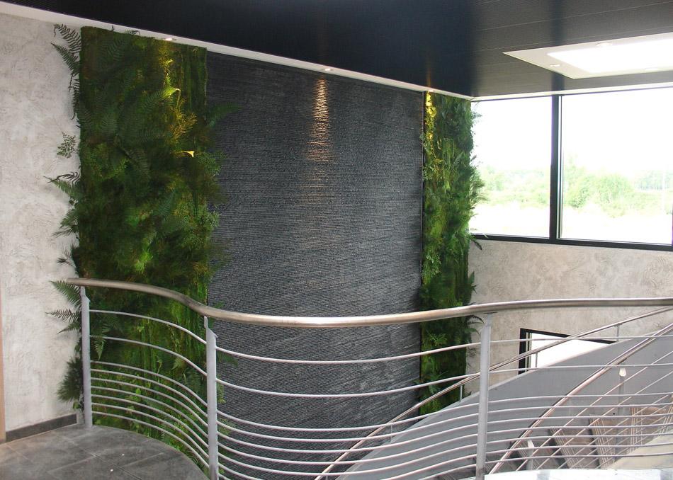 Mur vegetal exterieur facade design de maison for Mur exterieur design