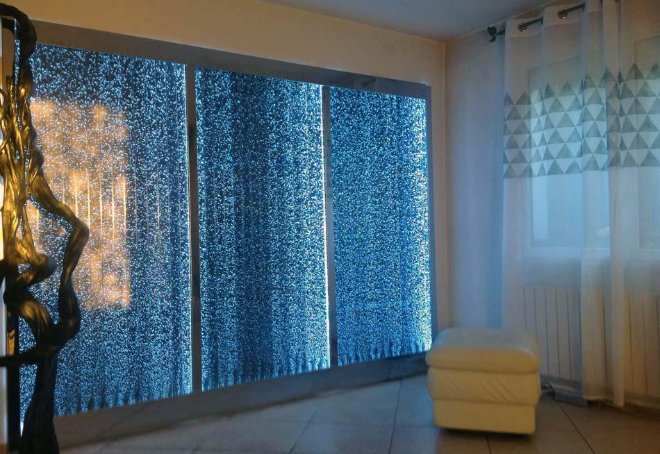 mur d 39 eau bulles histoire d 39 eau. Black Bedroom Furniture Sets. Home Design Ideas