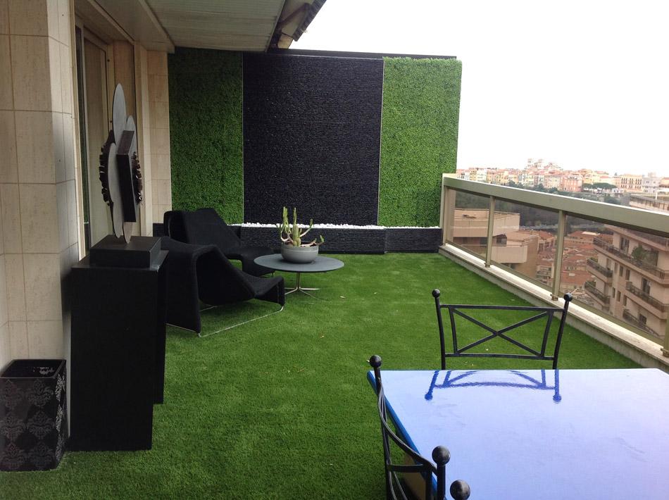 Murs v g taux stabilis s et mur v g tal artificiel for Murs exterieurs terrasse