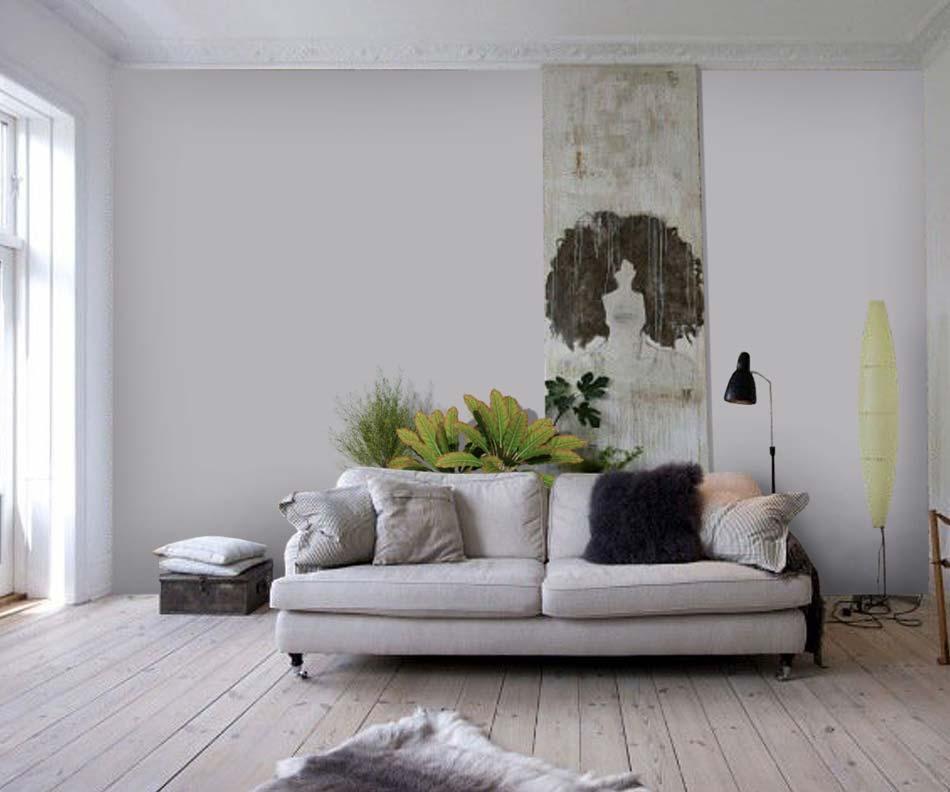 Habillage de mur en bois flott histoire d 39 eau for Decoration exterieur bois flotte