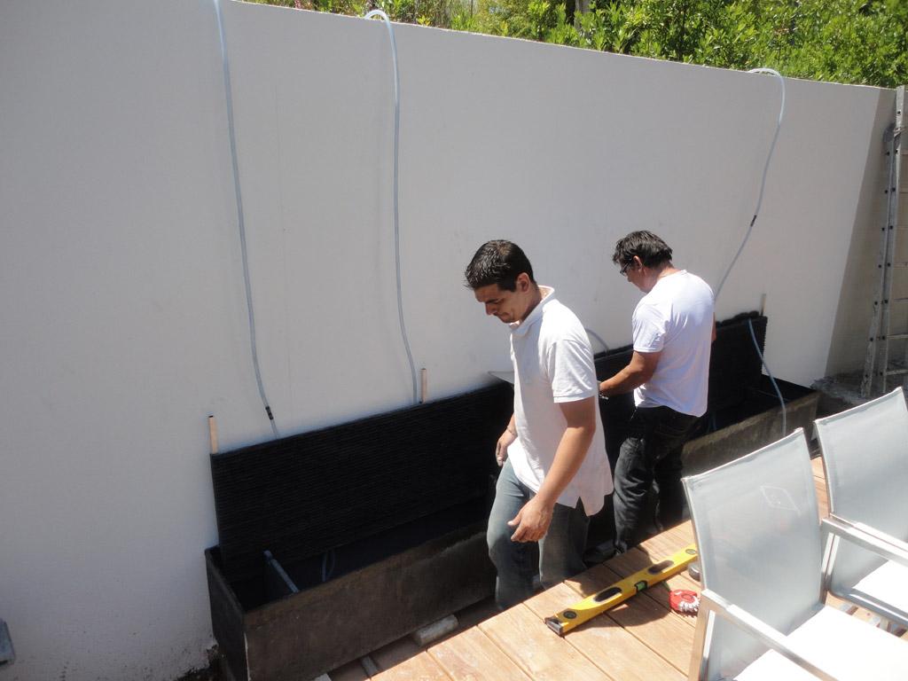 Realiser Un Mur D Eau Exterieur mur d'eau extérieur - histoire d'eau
