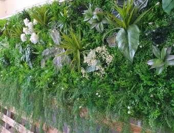 Mur végétal artificiel sur mesure