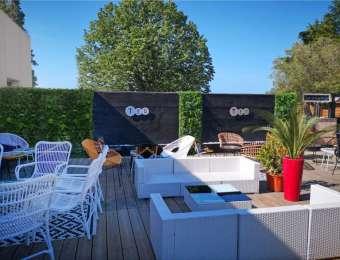Aménagement terrasse restaurant à Lyon